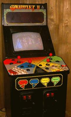 Gauntlet II cabinet - anyone have a better photo?