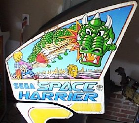 Space Harrier side art