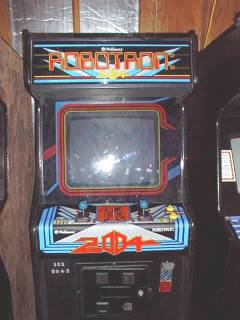 Alternate cabinet photo of Robotron