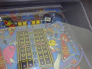 Baby Pac-Man pinball playfield - right