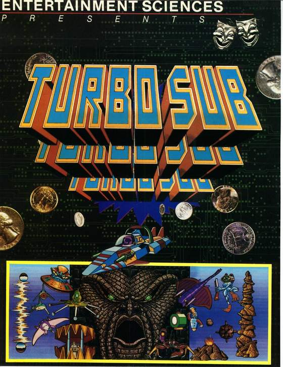 Turbo Sub Flyer: 1 Front