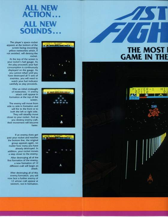 Astro Fighter Flyer: 2 Middle Left