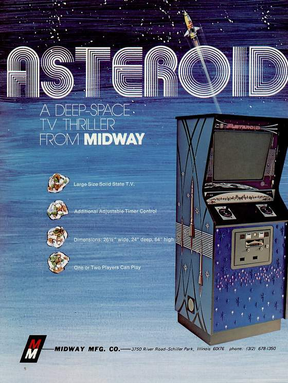 Asteroid Flyer: Front