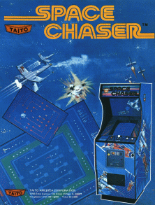 Space Chaser promotional flyer