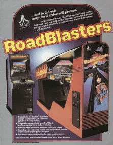 Road Blasters promotional flyer