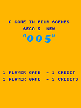 '005' title screen