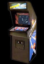 'Asteroids' cabinet photo
