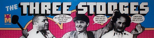 'Three Stooges' marquee