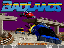 'Badlands' title screen
