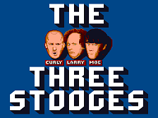 'Three Stooges' title screen