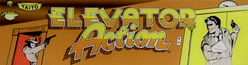 Elevator Action marquee
