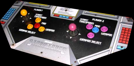 Strike Force control panel