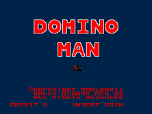 Domino Man title screen