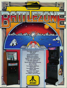 'Battlezone' promotional flyer