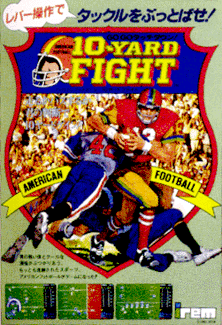 '10-Yard Fight' promotional flyer