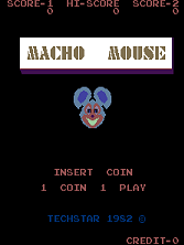 Macho Mouse title screen