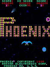'Phoenix' title screen