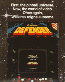 'Defender' promotional flyer