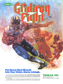 Gridiron Fight promotional flyer
