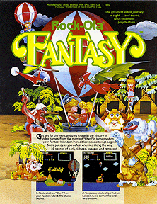 Fantasy promotional flyer