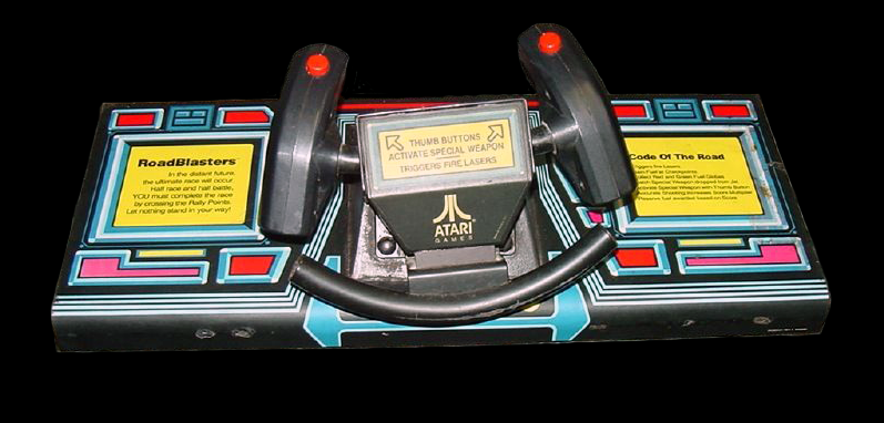 Road Blasters control panel