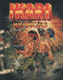 Ikari Warriors promotional flyer
