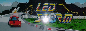 LED Storm marquee