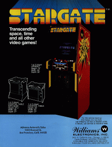 'Stargate' promotional flyer