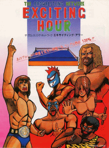 'Exciting Hour' promotional flyer