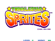 Twinkle Star Sprites title screen