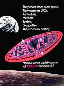 'Zarzon' promotional flyer
