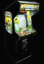 Ikari Warriors cabinet photo