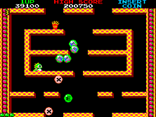 Bubble Bobble gameplay screen shot