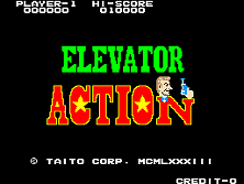 Elevator Action title screen
