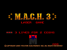 M.A.C.H. 3 title screen