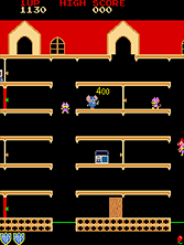 Mappy gameplay screen shot