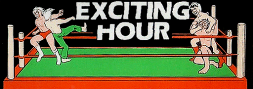 'Exciting Hour' marquee