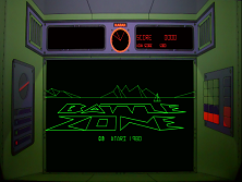 'Battlezone' title screen