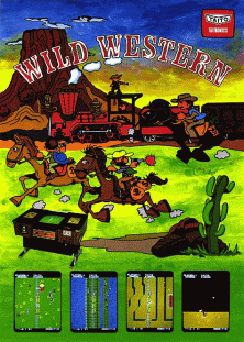 Wild Western promotional flyer