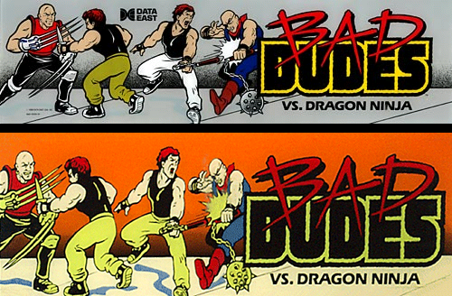 Bad Dudes Vs. Dragon Ninja marquee