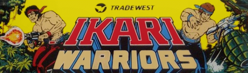 Ikari Warriors marquee