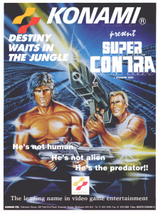 Super Contra promotional flyer