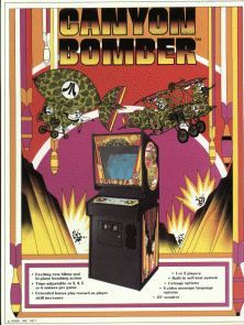 Canyon Bomber promotional flyer