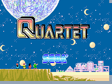 Quartet title screen