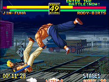 Art of Fighting 3 gameplay screen shot
