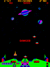 'Satan of Saturn' gameplay screen shot