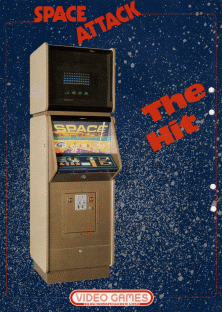 Space Attack promotional flyer