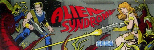 Alien Syndrome marquee