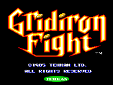 Gridiron Fight title screen