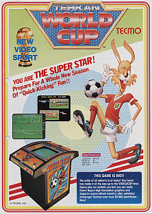 Tehkan World Cup promotional flyer